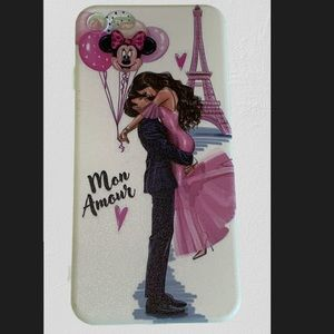 NEW IPhone 8 Plus Eiffel Tower Minnie Mouse Cover